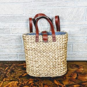 Handbags - Straw Woven Perfect Weekend Bag Backpack Market
